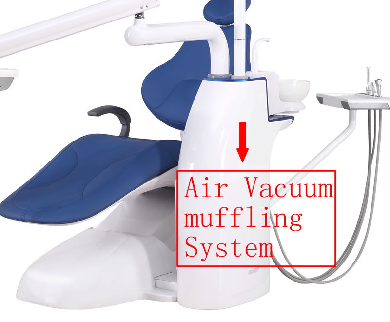 R7 Dental chair Air Vacuum muffling System