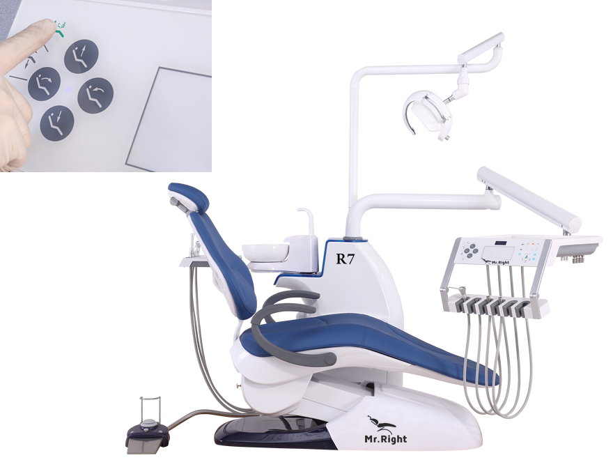 R7Dental chair Spit-Out Positon Key