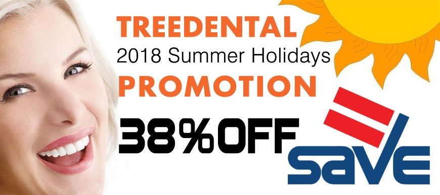 Treedental 2018 Summer Holidays Promotion