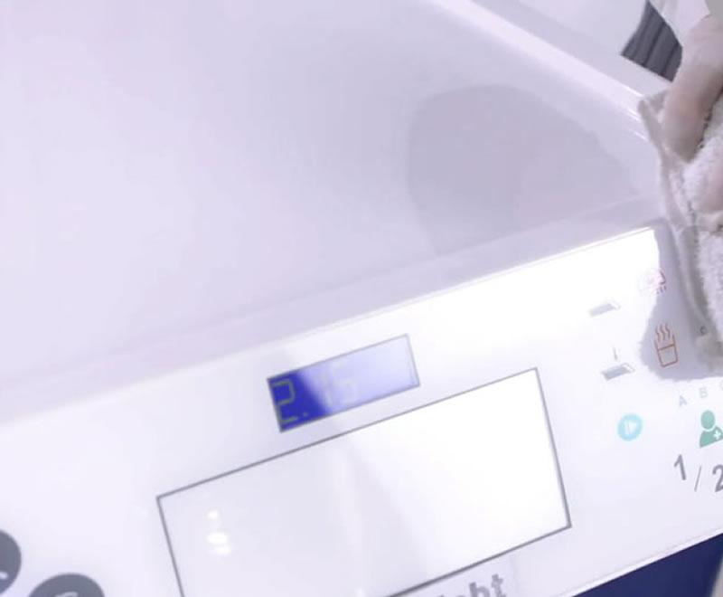 R7 dental chair easy clean surface