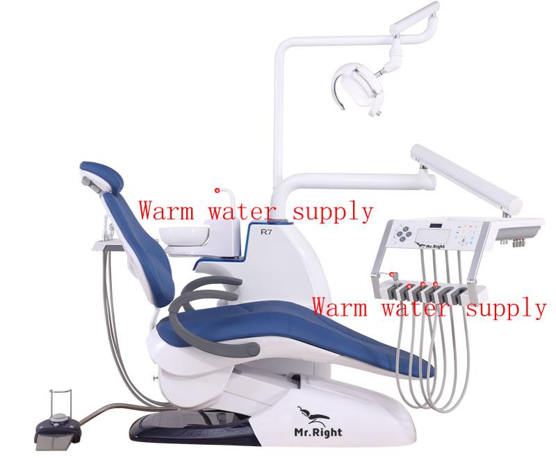 R7 Dental chair warm water